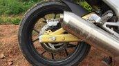 Mahindra Mojo wheel in Images