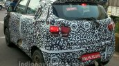 Mahindra S101 (XUV100) camouflaged rear spied in Nashik