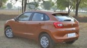 Maruti Baleno CVT rear quarters Review