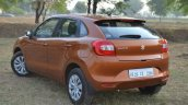 Maruti Baleno CVT rear three quarter Review