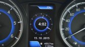 Maruti Baleno Diesel clock Review