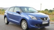 Maruti Baleno Diesel front angle Review