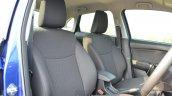 Maruti Baleno Diesel seats front Review