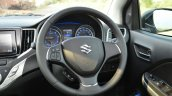 Maruti Baleno Diesel steering wheel Review