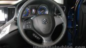 Maruti Baleno steering launch images