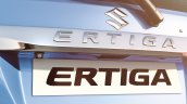 Maruti Ertiga facelift chrome garnish press shots