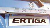 Maruti Ertiga facelift chrome garnish press shots