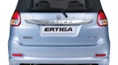 Maruti Ertiga facelift rear end press shots