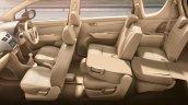 Maruti Ertiga facelift seat folding press shots