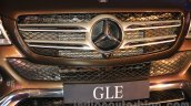 Mercedes GLE front grille India launch