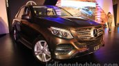 Mercedes GLE front quarter India launch
