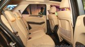 Mercedes GLE rear seats legroom India launch