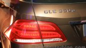 Mercedes GLE tail lamp India launch
