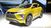 Mitsubishi eX Concept front three quarters at the Tokyo Motor Show 2015