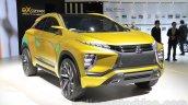 Mitsubishi eX Concept front three quarters left at the Tokyo Motor Show 2015