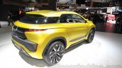 Mitsubishi eX Concept rear three quarters right at the Tokyo Motor Show 2015