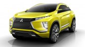 Mitsubishi eX SUV concept front quarter to debut at 2015 Tokyo Motor Show