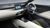 Mitsubishi eX SUV concept interior to debut at 2015 Tokyo Motor Show