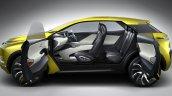 Mitsubishi eX SUV concept side to debut at 2015 Tokyo Motor Show