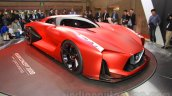 Nissan Concept 2020 Vision Gran Turismo front quarters at the 2015 Tokyo Motor Show