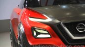 Nissan Gripz Concept headlight at the 2015 Tokyo Motor Show