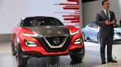 Nissan Gripz Concept with Carlos Ghosn at the 2015 Tokyo Motor Show