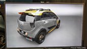 Proton Iriz Active Mk2 concept rear three quarter debuts at the Alami Proton 2015