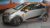 Proton Iriz Active Mk2 concept side debuts at the Alami Proton 2015