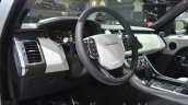 Range Rover Sport SVR interior at IAA 2015