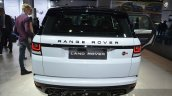 Range Rover Sport SVR rear at IAA 2015