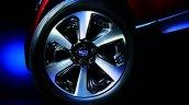 Subaru Forester Facelift alloy wheel official