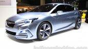 Subaru Impreza 5-door concept front three quarters left