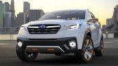 Subaru Viziv Future Concept front quarter unveiled