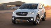 Subaru Viziv Future Concept front three quarter unveiled