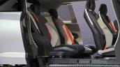 Subaru Viziv Future Concept rear seats at the 2015 Tokyo Motor Show