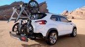 Subaru Viziv Future Concept rear three quarter unveiled