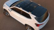 Subaru Viziv Future Concept unveiledSubaru Viziv Future Concept top view unveiled
