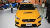 Subaru WRX STi S207 Limited Edition front at the 2015 Tokyo Motor Show