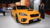 Subaru WRX STi S207 Limited Edition front quarter at the 2015 Tokyo Motor Show