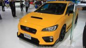 Subaru WRX STi S207 Limited Edition front three quarter at the 2015 Tokyo Motor Show