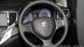 Suzuki Baleno steering at 2015 Tokyo Motor Show