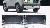Suzuki Escudo brochure boot space leaked