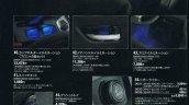 Suzuki Escudo brochure interior backlight leaked