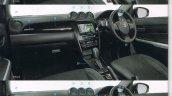 Suzuki Escudo brochure interior leaked