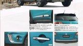 Suzuki Escudo brochure urban line leaked