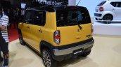 Suzuki Hustler facelift rear three quarter at the 2015 Tokyo Motor Show