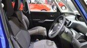 Suzuki Solio Hybrid front cabin at the 2015 Tokyo Motor Show