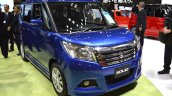 Suzuki Solio Hybrid front three quarter at the 2015 Tokyo Motor Show