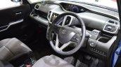 Suzuki Solio Hybrid interior at the 2015 Tokyo Motor Show