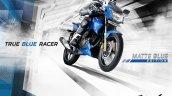 TVS Apache RTR 180 Matte Blue poster